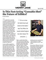 "Is This Fast-Acting ""Cannabis Shot"" the Future of Edibles?"